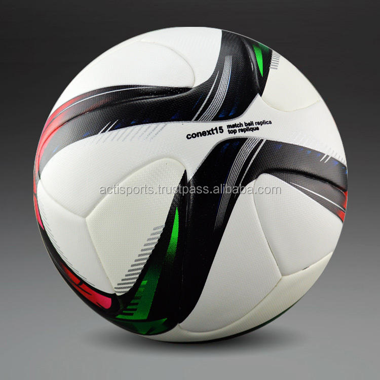Ballon de Football en PU avec taille officielle, ballon de Football Boule promotionnelle