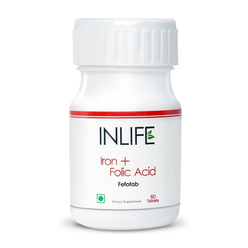 железо фолиевая кислота таблетки для беременных женщин