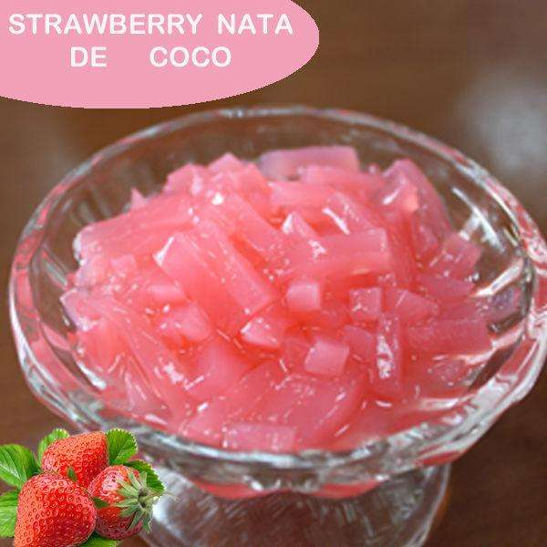 NATA DE COCO IN SYRUP HIGH QUALITY-SPECIAL PRICE