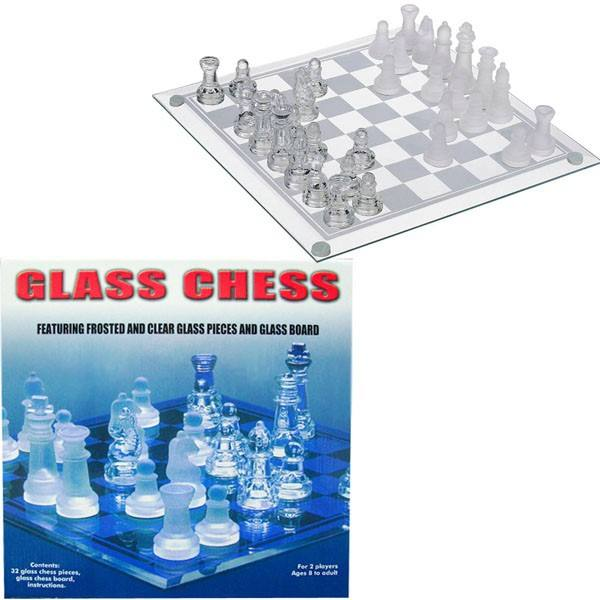 Glass Chess Set #GLASS CL