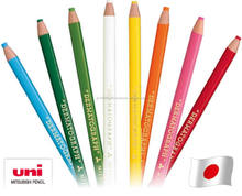 Mitsubishi Uni Rainbow Dermatograph made in Japan colored pencils easy to erase by water