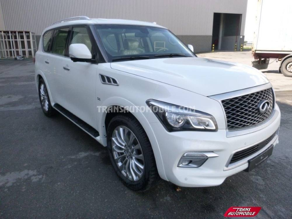 4x4, SUV & Station Wagon Infiniti QX80 LUXURY 5.6L เบนซิน/ESSENCE 4X4 ยี่ห้อใหม่ ref 1712