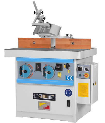 Tilting Spindle Moulder -5/ +45 degrees