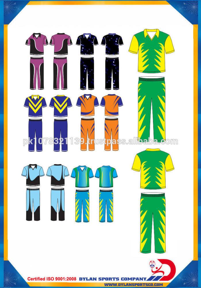 Personnalisé <span class=keywords><strong>cricket</strong></span> uniforme demi manches entièrement <span class=keywords><strong>sublimation</strong></span> chemise et pantalon