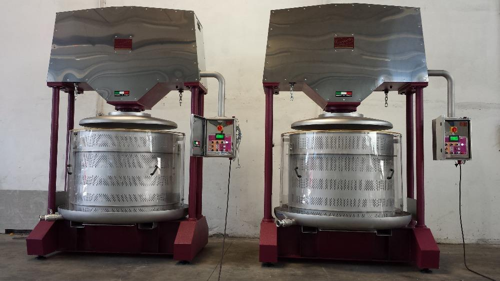 Hydraulic ice grape press machine for grape wine