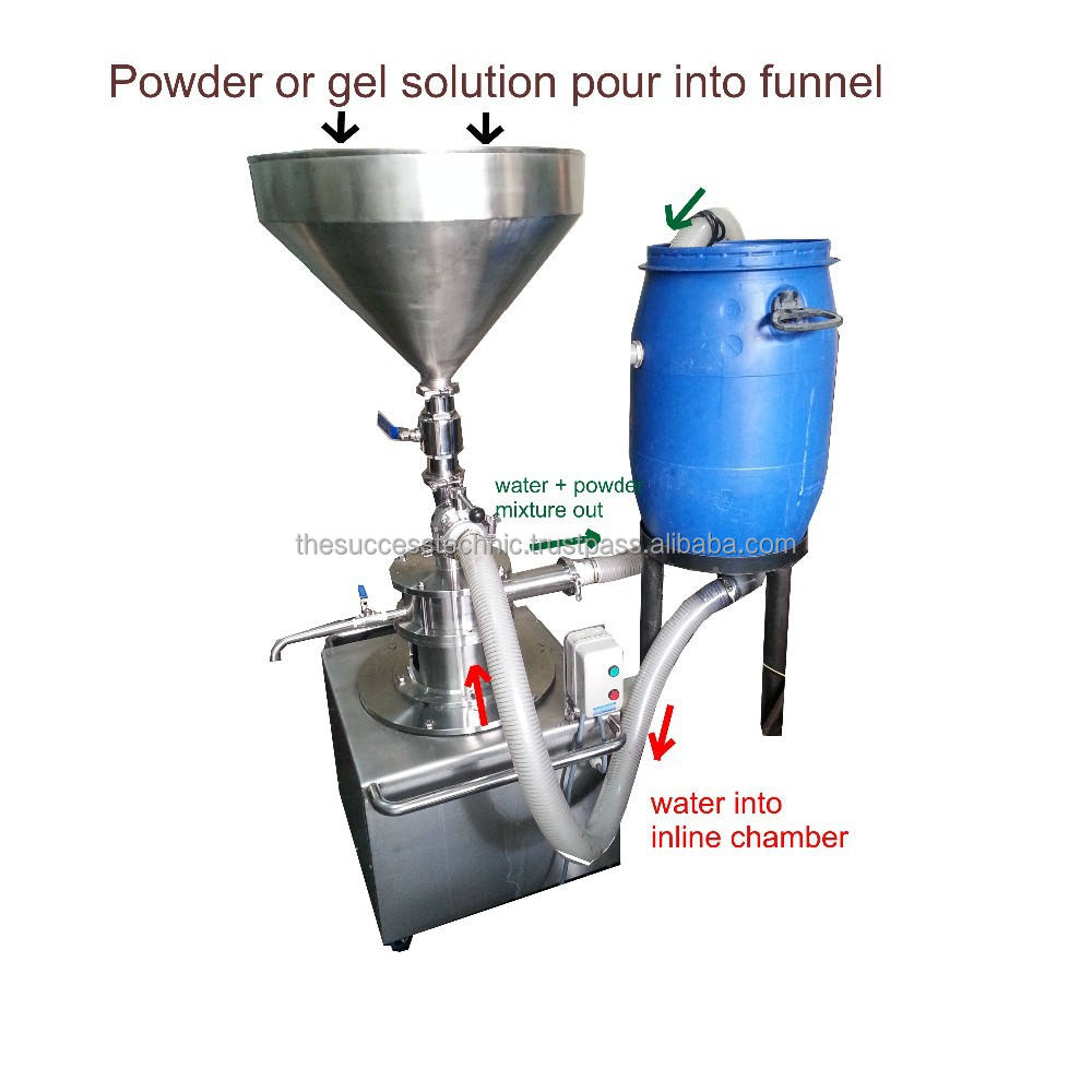 Máy hút bể Inline homogenizer / phân tán / chất nhũ hóa / wetmilling / khuấy / siêu cắt cao trộn / Dyn Flyer-VT500