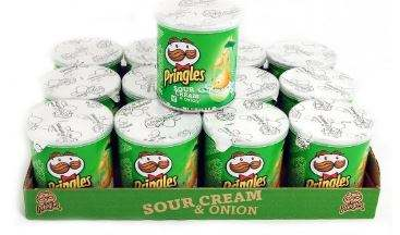 Pringles Potato Chips All Flavours Available