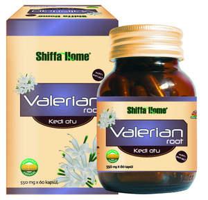 فاليريان الجذر المنومة العشبية كبسولة حبوب منع الحمل 550mgx60 الملحق أطعمة صحية