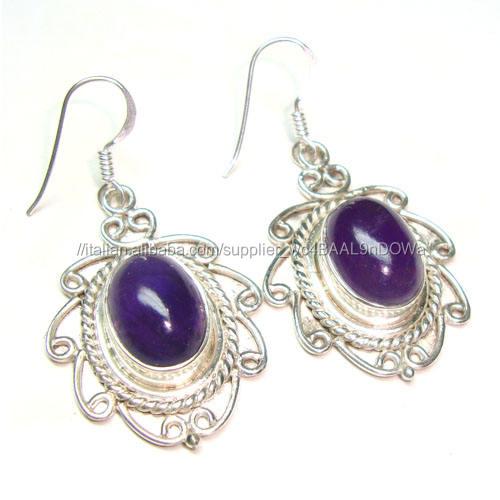 925 gioielli in argento ametista pietra semi preziosa gioielli fatti a mano gioielli alla moda