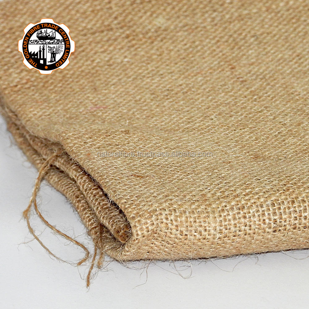 CRT Quality 100% Jute Natural Brown Color Make Carpet Backing Cloth/Hessian Sack /Raw Burlap Fabric