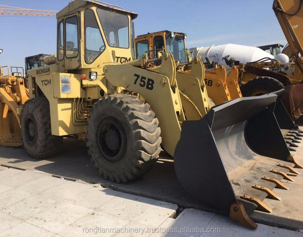 Good Performance Used TCM Wheel Loader 75B made in Japan / USA , Construction Equipment for hot sale