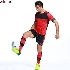 2021 Akilex new fashion high quality club customized soccer jerseys wholesale sports soccer uniform for team