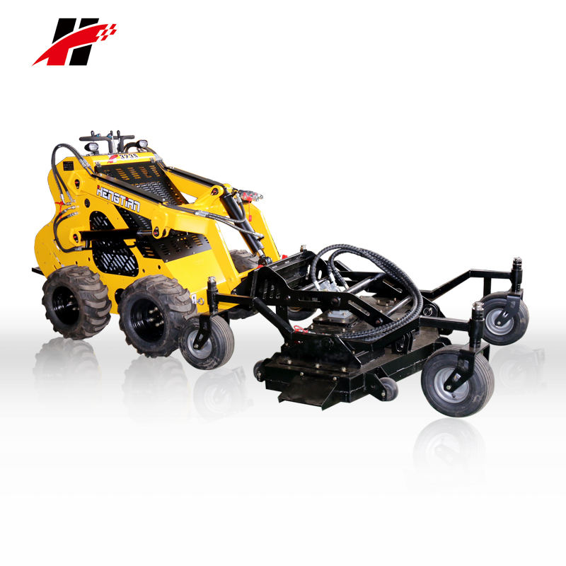 Brush cutter mini loader skid steer multi-functional tools attachments lawn mower for sale