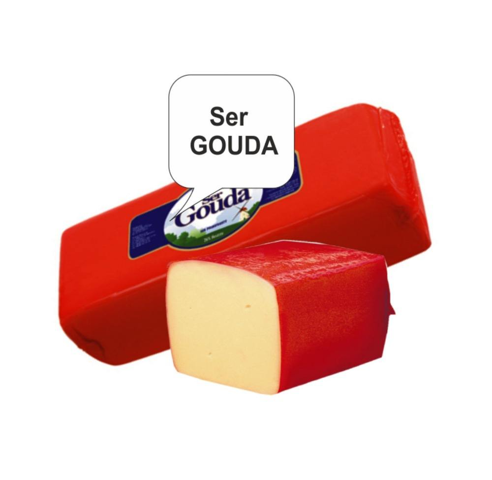 Gouda Cheese In Block