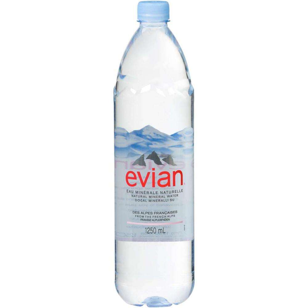 Evian Natural primavera Super agua 24