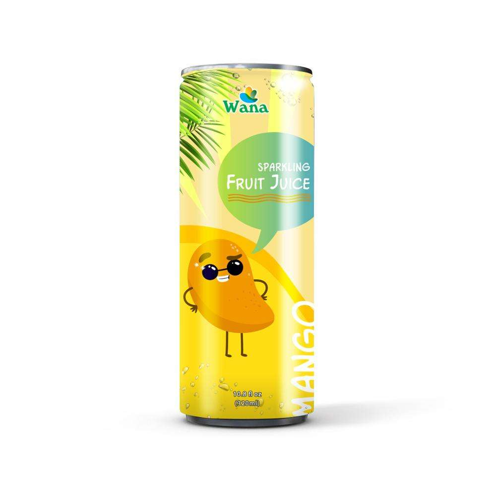 Sparkling Mango Juice Drink 320mL Canned