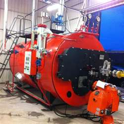 PACKAGE TYPE 3 PASS STEAM BOILER