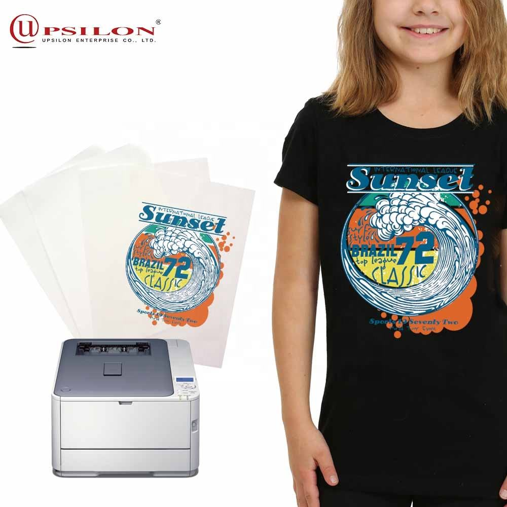 Tshirt Thermal Laser Dark No Cut Printing Transfer Paper
