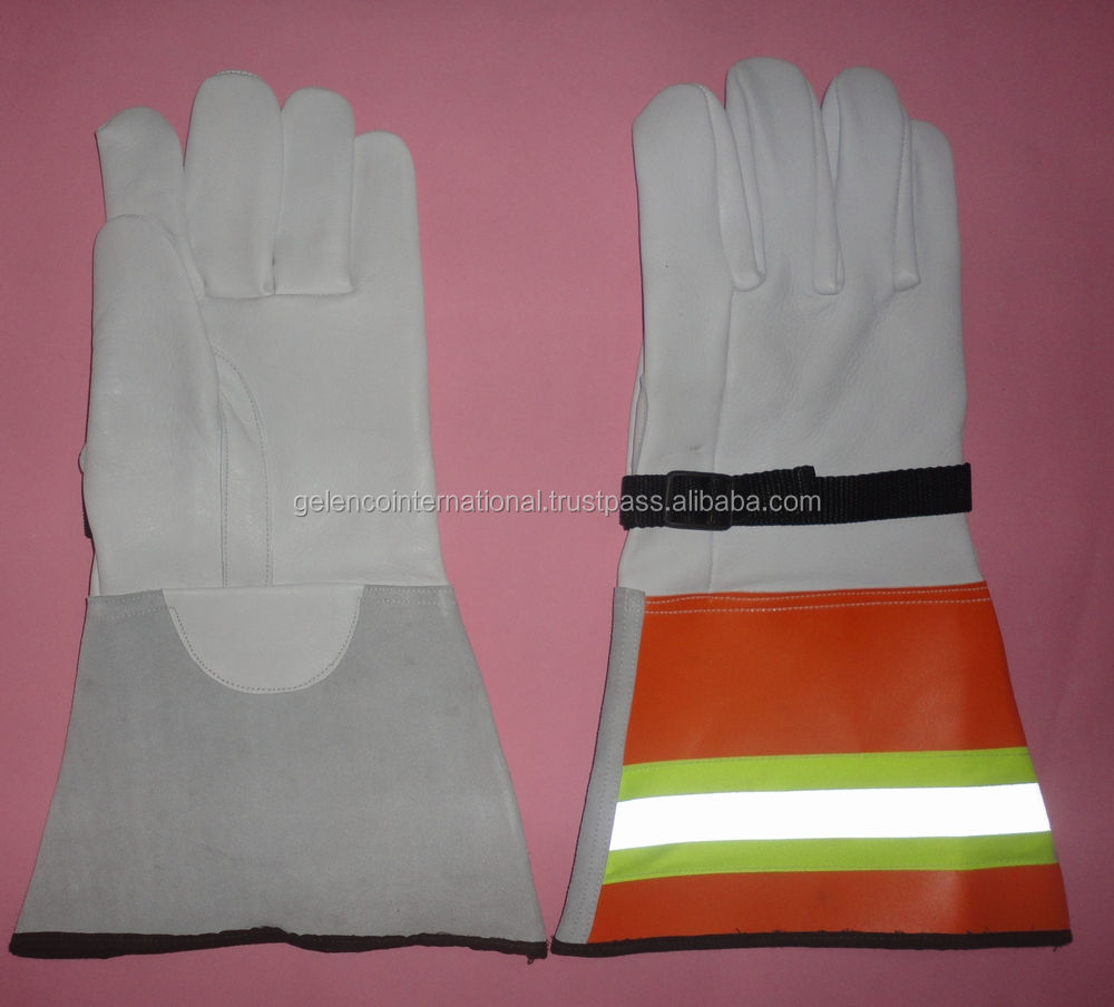 ELECTRICAL GLOVE PROTECTOR with Strap and Reflective tape