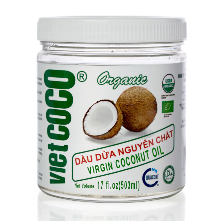 Organic Virgin Coconut Oil-PET Jar 500 ml