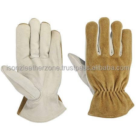 Cow/Buffalo/Goat/Sheep/Split Leather Driver Gloves