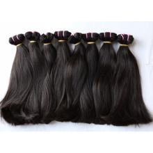 2018 new human hair extension 10A Grade super double straight very thick end