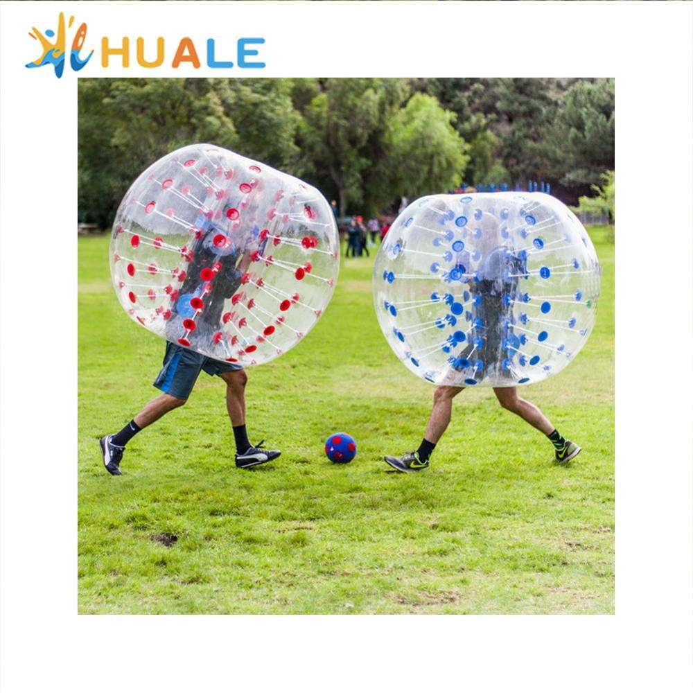 Cheap outdoor water commercial inflatable body bumper ball for adult