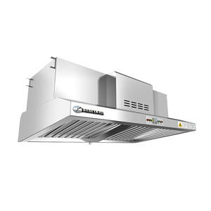 Commercial Kitchen Smoke Extractor Hood with Electrostatic Precipitator