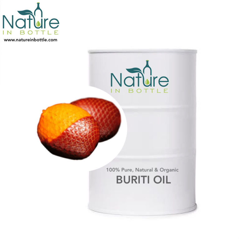 Buriti Oil | Buriti Fruit Oil | Mauritia flexuosa - 100% Pure and Natural Essential Oils - Wholesale Bulk Price