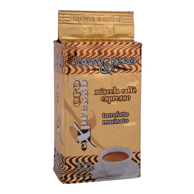 "ITALIAN GROUND TURKISH COFFEE ""ORO EXPRESSO"" 250 gr. ""DOLCE & NERO"" CRIMARK"