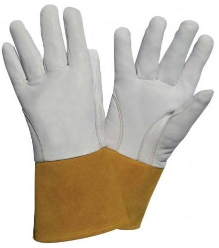 custom design tig- mig welding gloves /cow split leather tig welding gloves / Organ Safety tig welding gloves