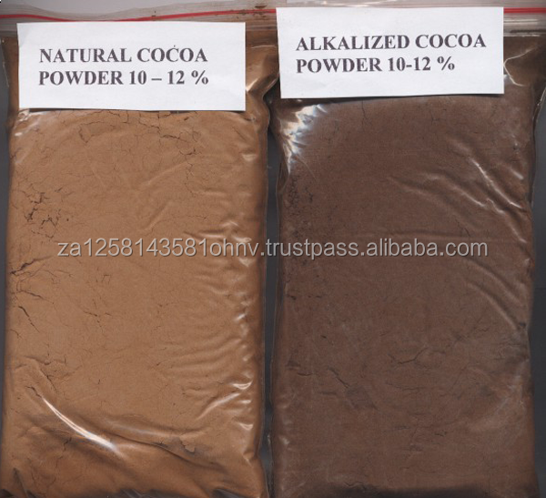 100% Natural and Alkalized Cocoa Powder