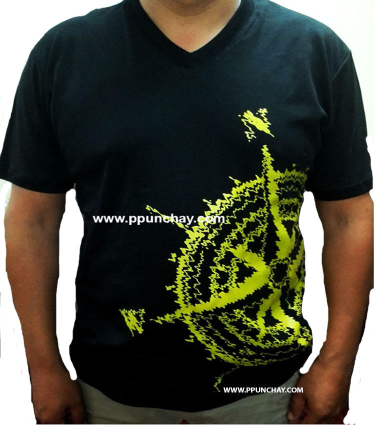 T Shirt in Organic Pima cotton for Men Ppunchay Peru High quality