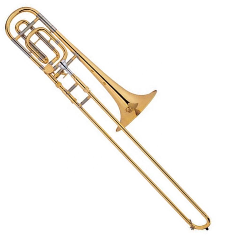 Popular grade gold lacquer Tenor Tuning Slide Trombone