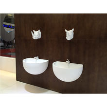 Good price shinestone solid surface sanitary wares  artificial stone sanitary wares