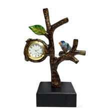 Tree Design Clock Corporate Gifted Item and Showpiece Tabletop Watch Hot Selling Item for Desktop Clock