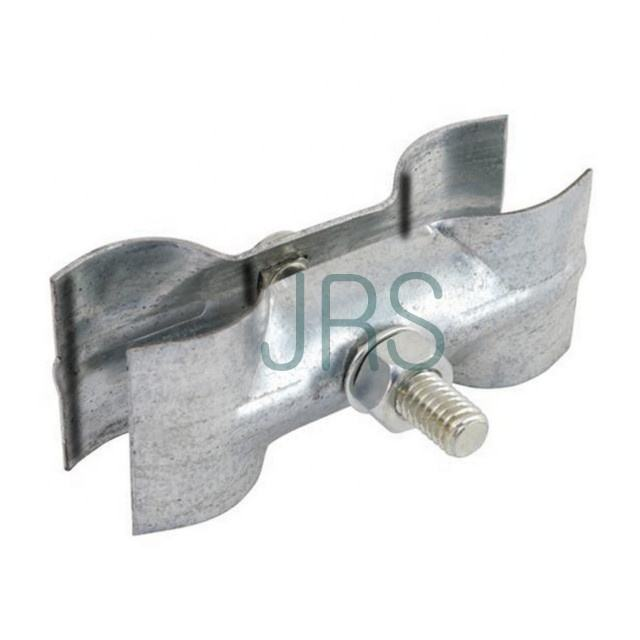 pressed steel scaffolding fence post coupler