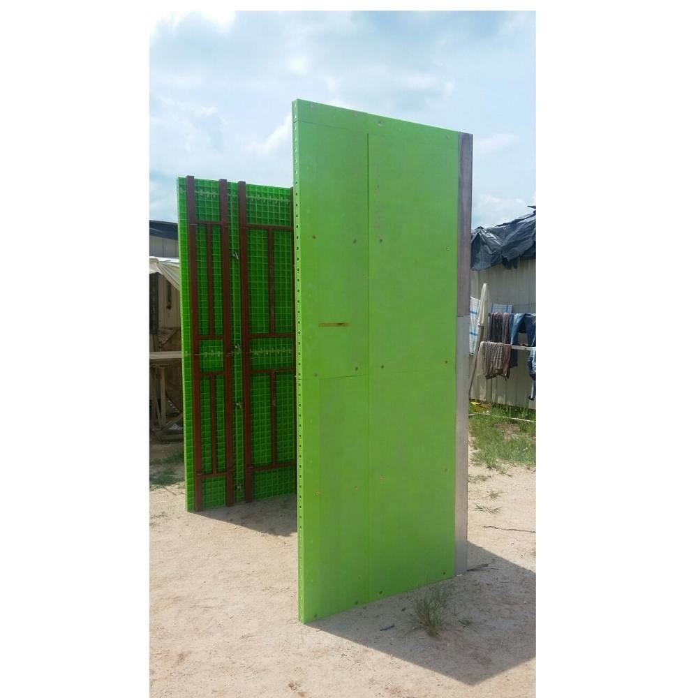 Low Cost Eco-Friendly Green PP Plastic Construction Formwork Panel Malaysia