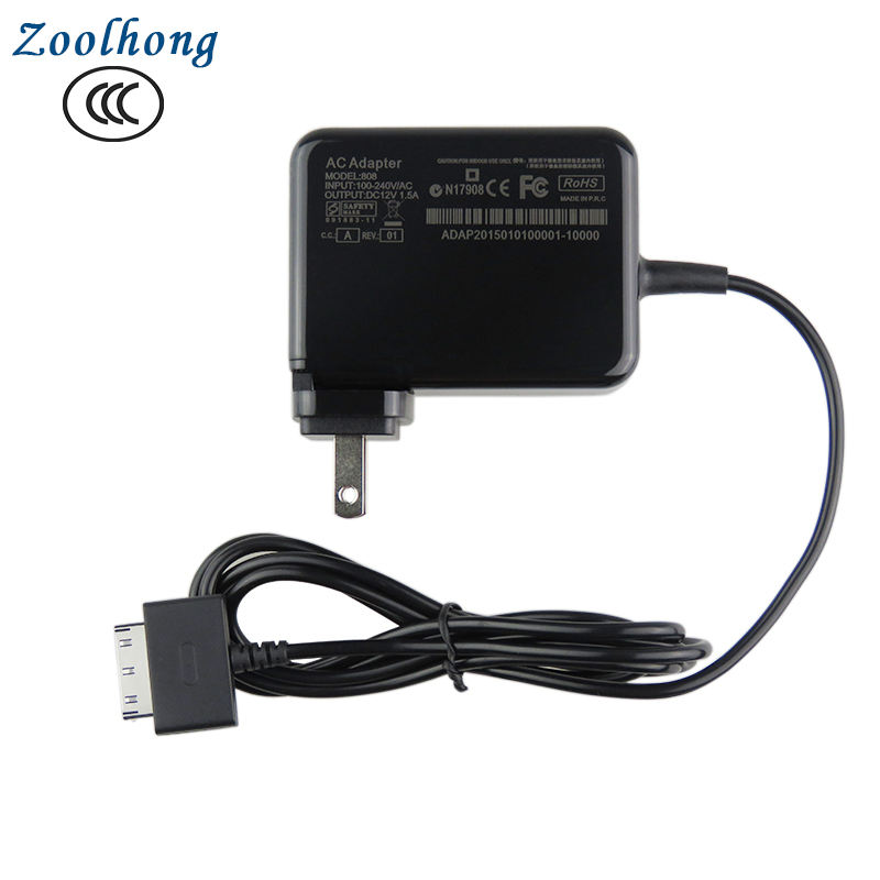 factory wholesale new design for ACER TABLET W510 Charger 12V1.5A Compatible for Iconia Tab W510/W511 Tablets 18 Watt