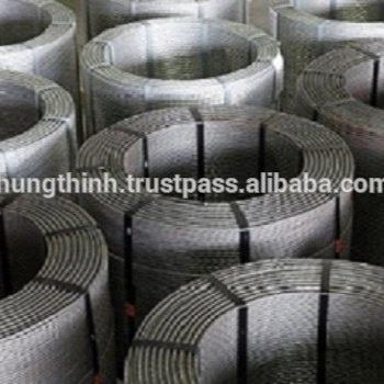Galvanized PC strand for large-span bridges, overhead crane beam, rock-soil anchoring Project, multi-storey industrial buildings