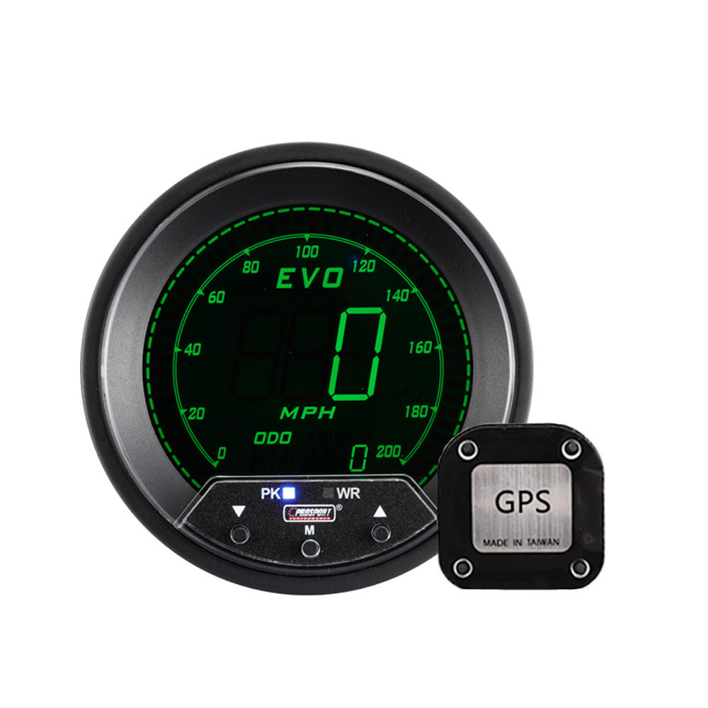 85mm Universal Digital Gps LCD Speedometer for Cars