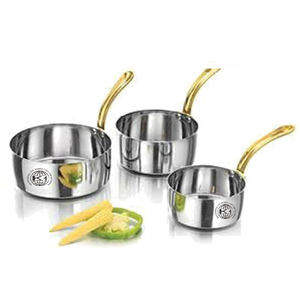 Saucepan /induction frypan / stainless steel large