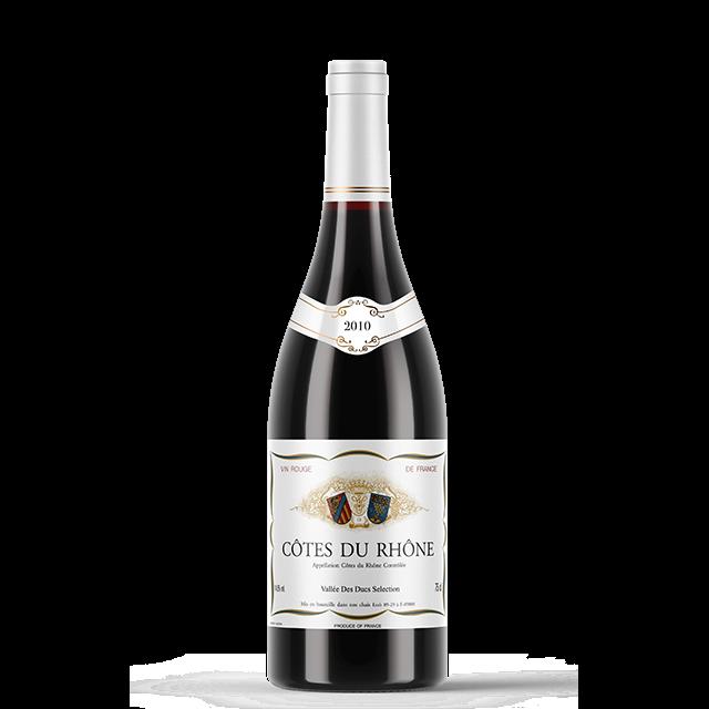 French Wine COTES DU RHONE AOC 750Ml