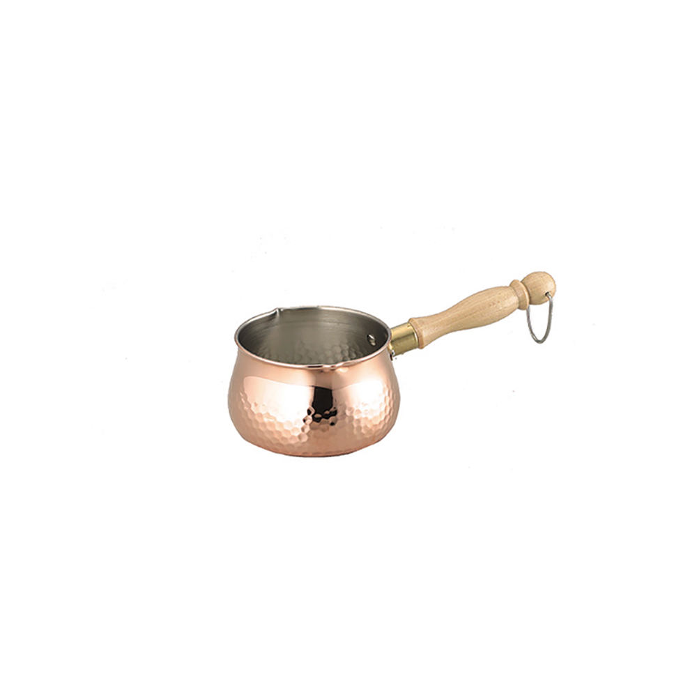 Japanese non stick copper frying pan with state of the art craftsmanship