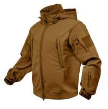 ARMY  KHAKI TACTICAL SOFT SHELL JACKET