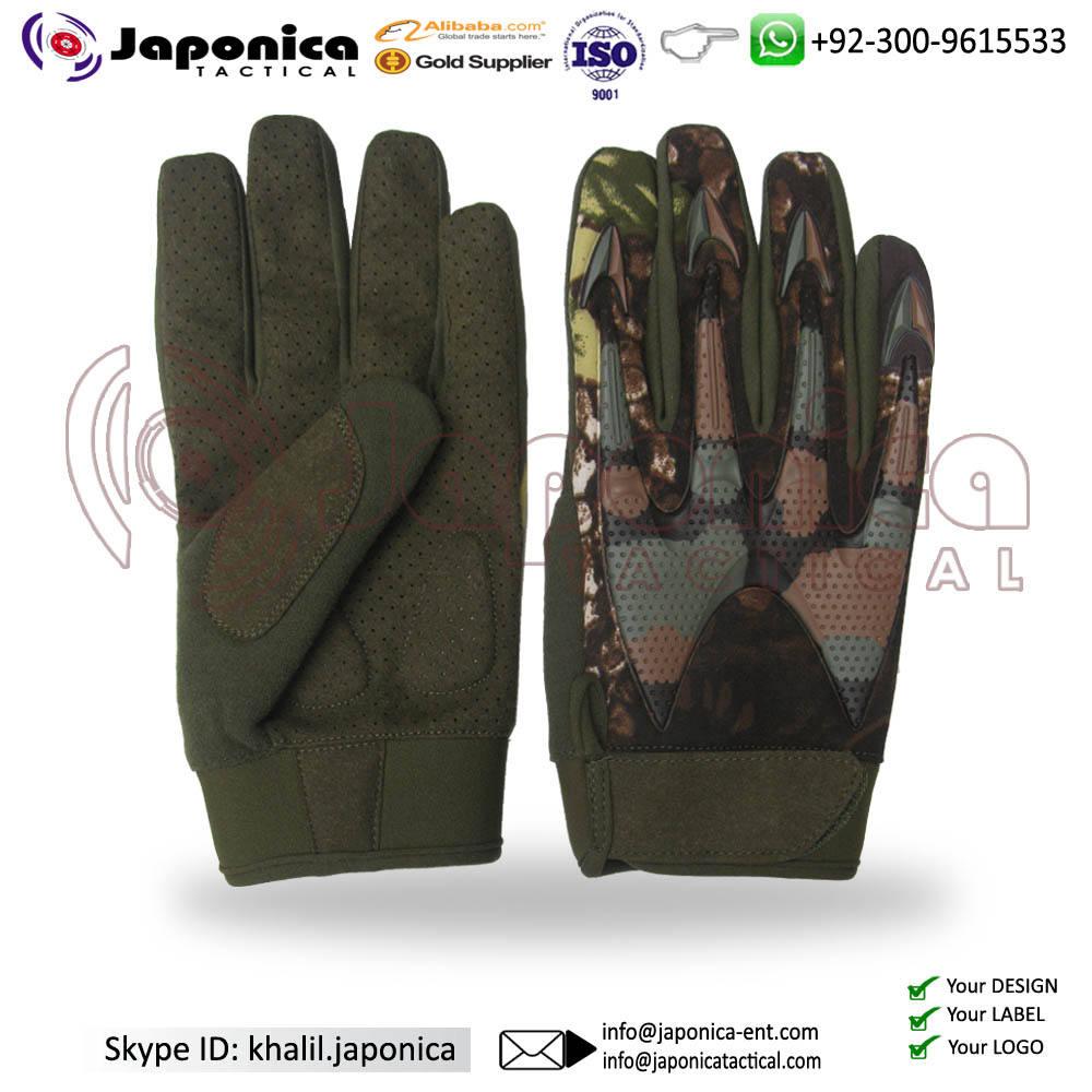 전술 보호 장갑 위장 설계 전술 야외 장갑 군사 경찰 액세서리 육군 전투 안전 장갑