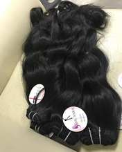 Wholesale Price Vietnamese Virgin Hair Extension, 100% Human hair,unprocessed, no dye, no chemical hair bundle natural wavy