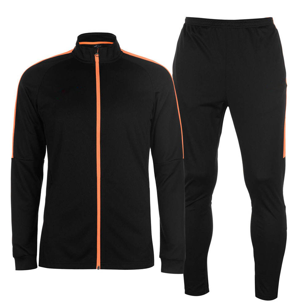 Men Fleece Outdoor Jogging Running and Training Polyester Sportswear Tracksuits