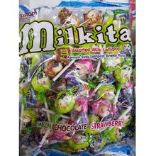 MILKITA Lollipop Candy MILKY | Indonesia Origin | Cheap popular candy with milk ingredients