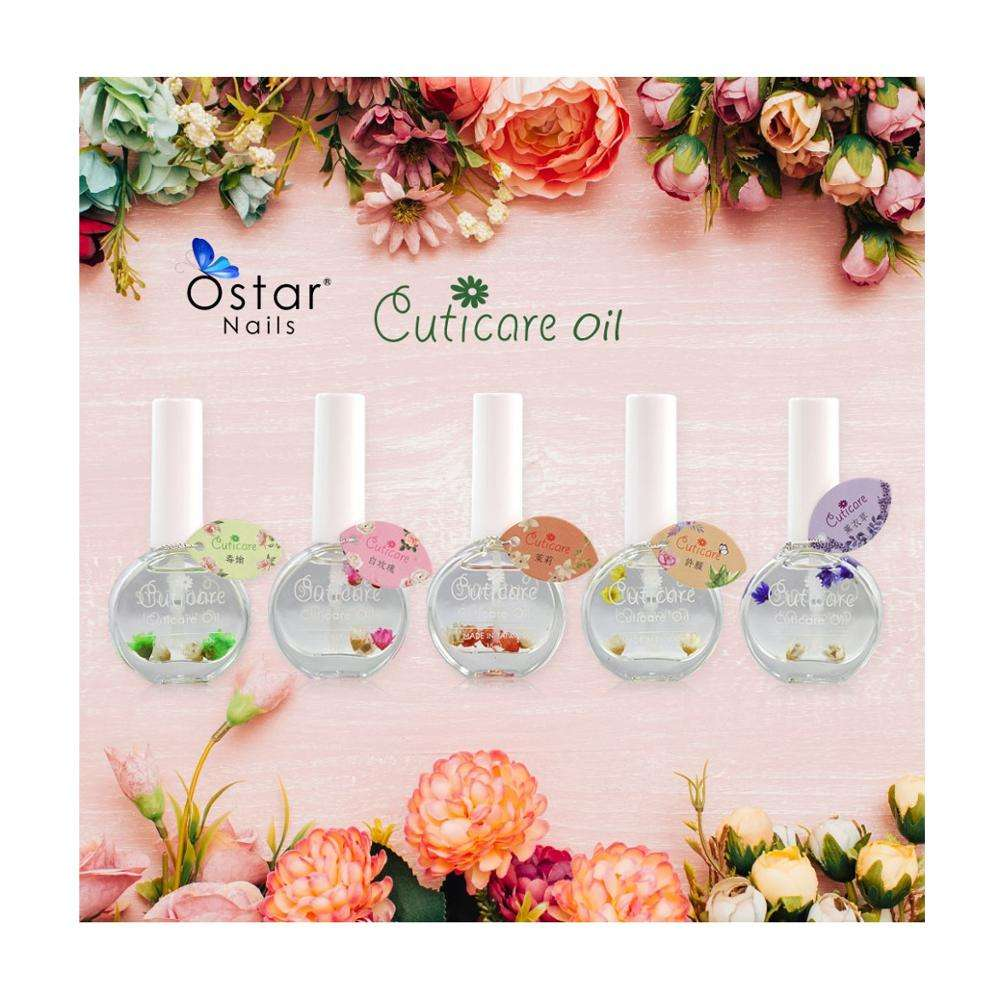 High Quality Nail Cuticle Oil For Nail Care With Dried Flower
